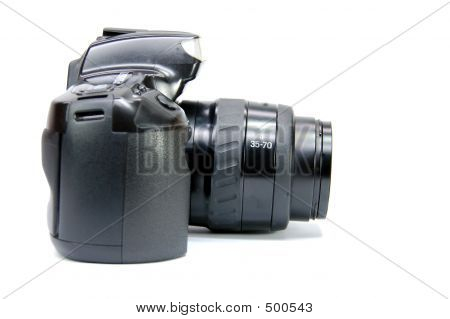 Slr Camera Side View