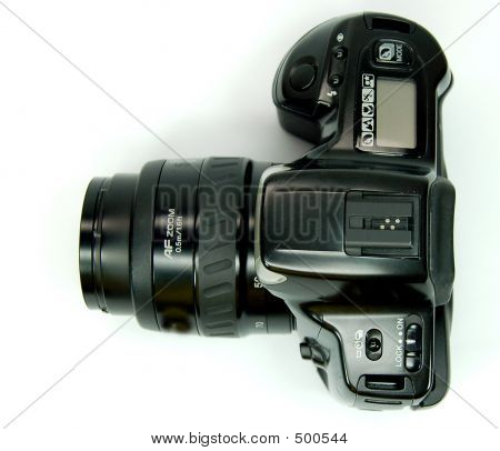 Slr Camera Top View