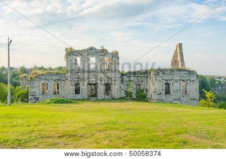 Skala Podilska, Ukraine - ruins of castle