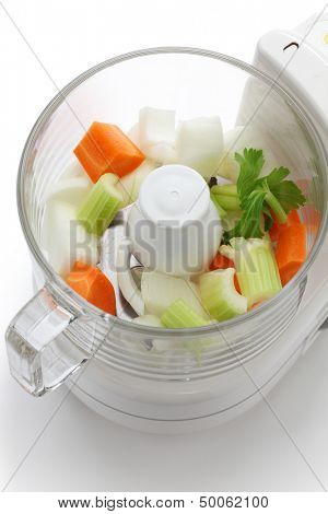 food processor, kitchen equipment