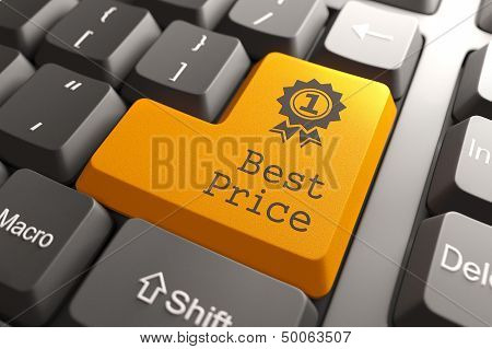 Keyboard with Best Price Button.