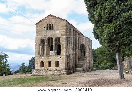 Santa Maria Del Naranco Church, Oviedo, Spain