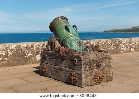 1773 Cannon at Culzean castle, Ayrshire, Scotland