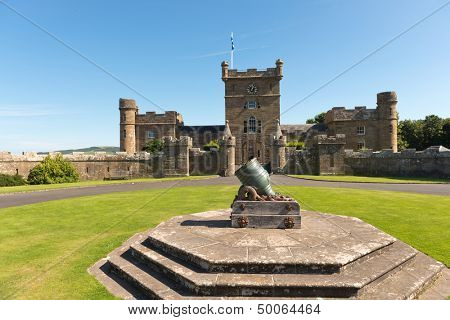 Cannon at Culzean castle, Ayrshire, Scotland