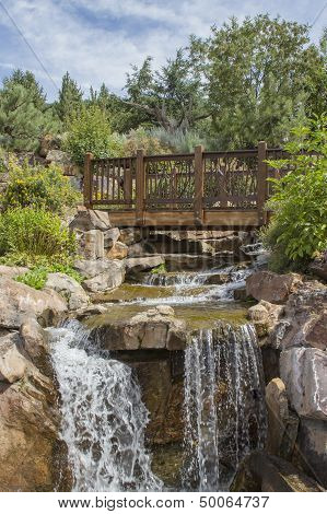 Vail Garten Wasserfall