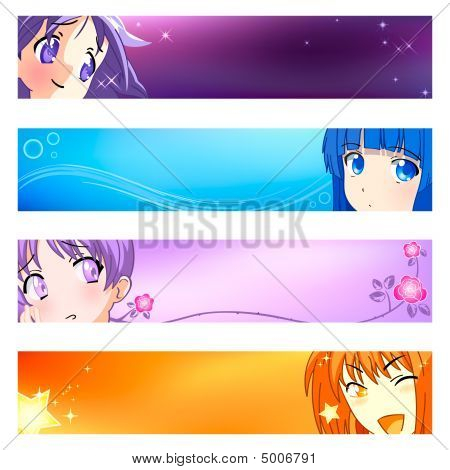 Anime Banners | Set 1
