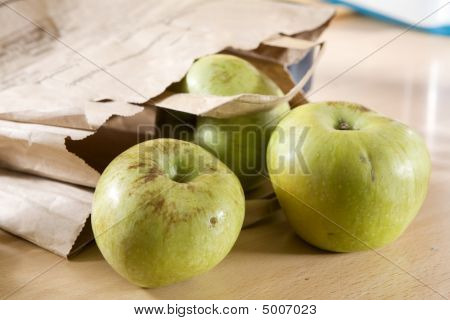 Apple In Parcel