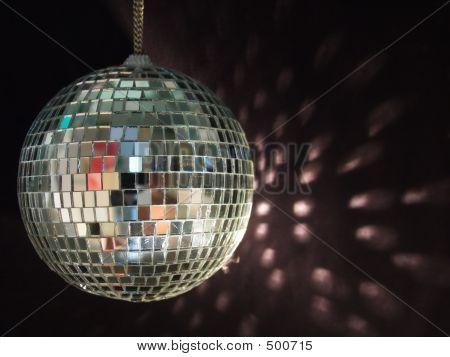 Shiny Disco Ball Reflections