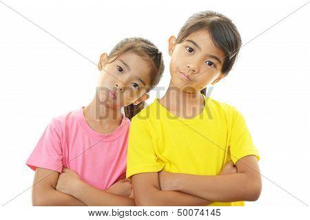 Dissatisfied girls