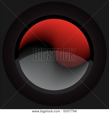 Red&black Button
