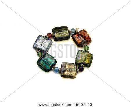 Bracelet Made Of Venetian Glass