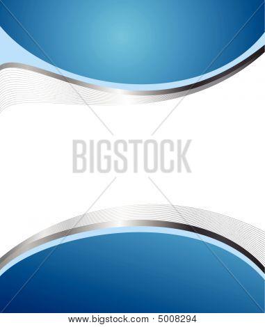 Fondo azul Abstrac