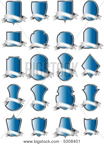Coat Of Arm Vector Set