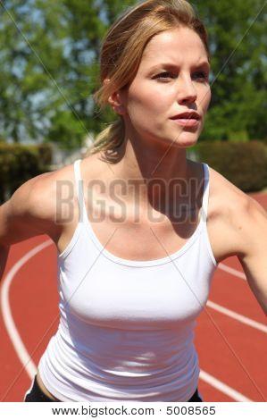 Athletic Track Runner
