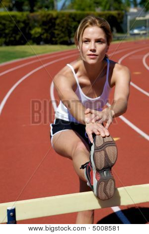 Athletic Track Runner