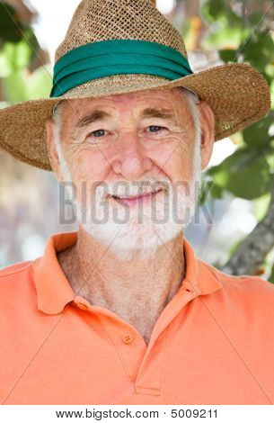 Senior Portrait - Face Of Experience