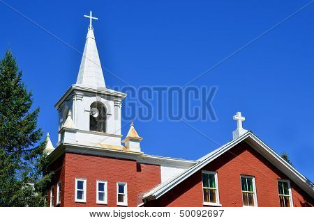 Church Sainte Marie Mediatrice Brigham Quebec, Canada