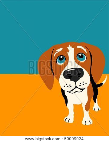 Illustration of a Beagle Dog