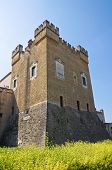 stock photo of swabian  - Norman Swabian Castle. Mesagne. Puglia.