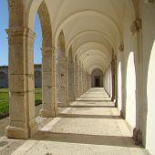 stock photo of carthusian  - carthusian monastery San Giacomo on Capri island in Campania region in Italy - JPG