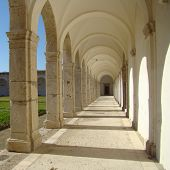 picture of carthusian  - carthusian monastery San Giacomo on Capri island in Campania region in Italy - JPG