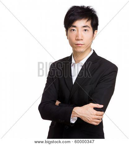 Asia businessman portrait