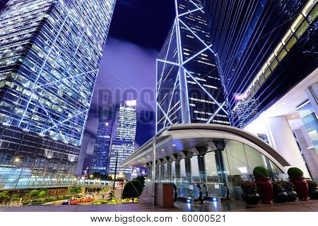 Hong Kong modern building