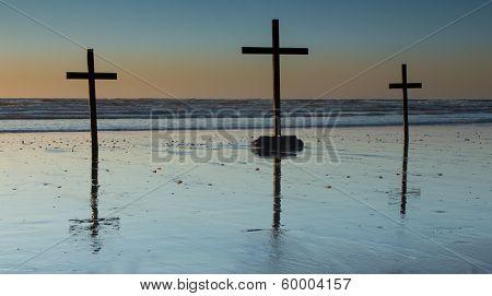 Beach Crosses