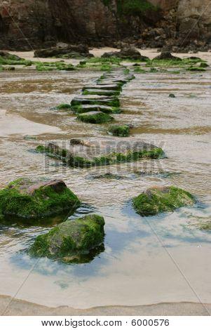 Perranporth Stepping Stones