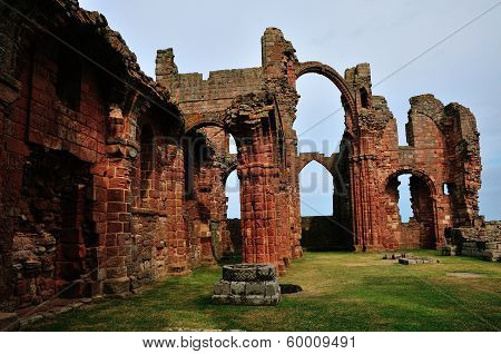 Ruins Of A Priory.