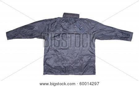 Waterproof gray jacket.