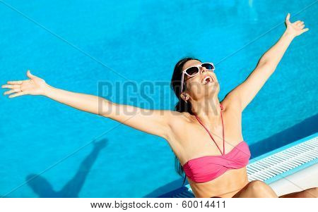 Blissful Summer Woman