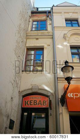 Narrowest House In Europe, Bratislava, Slovakia