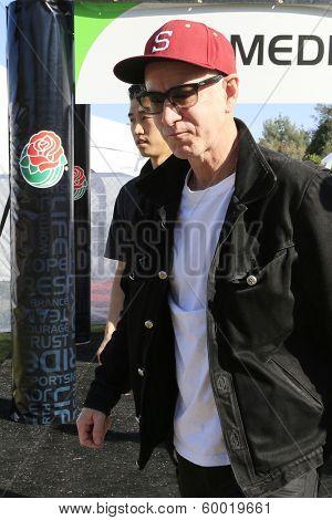 PASADENA - JAN 1: John McEnroe is seen at the Rose Bowl on January 1, 2014 in Pasadena, California