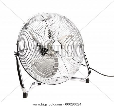 Front view of electric fan.