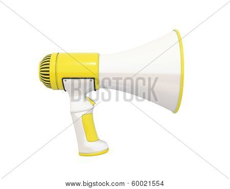 Megaphone Yellow Profile