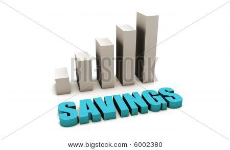 Blauwe besparingen