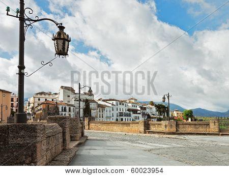 The Puente Nuevo bridge in Ronda, Spain.