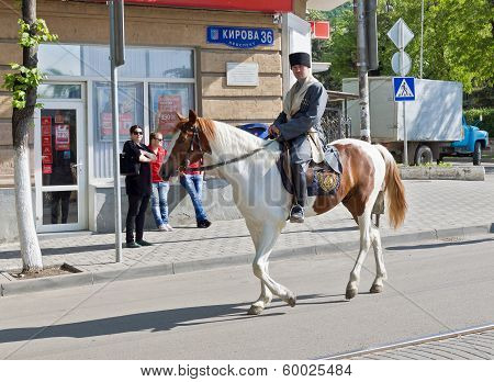 Cossack On A Horse