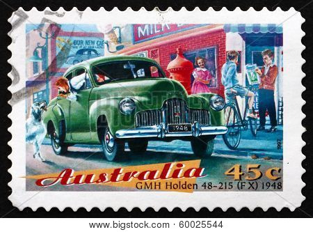 Postage Stamp Australia 1997 Gmh Holden, Classic Car