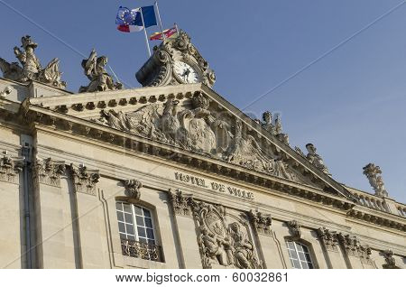 City Hall Of Nancy, France