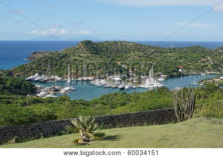 English Harbour and Nelsons Dockyard, Antigua and Barbuda, Caribbean