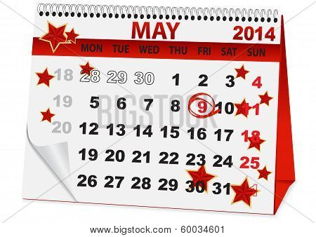 calendar for Victory Day