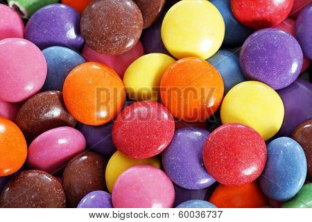Candy Coated Chocolate