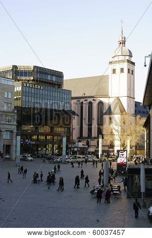 Station square Cologne