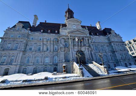 Montreal's city hall
