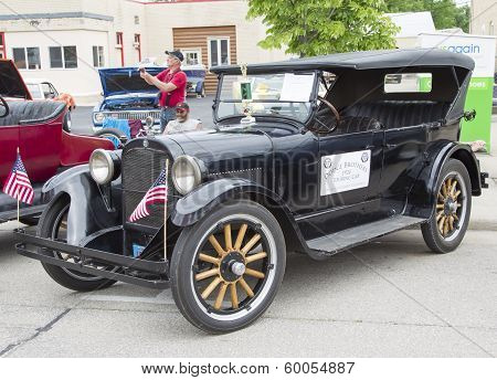 1924 Black Dodge Brothers Touring Car