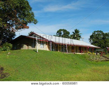 Church Building, Navala Village, Viti Levu, Fiji