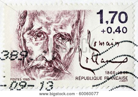 Romain Rolland Stamp