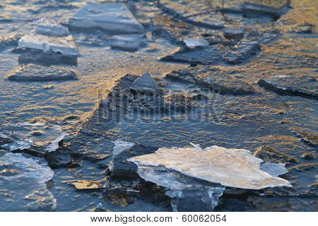 Broken Ice Floes
